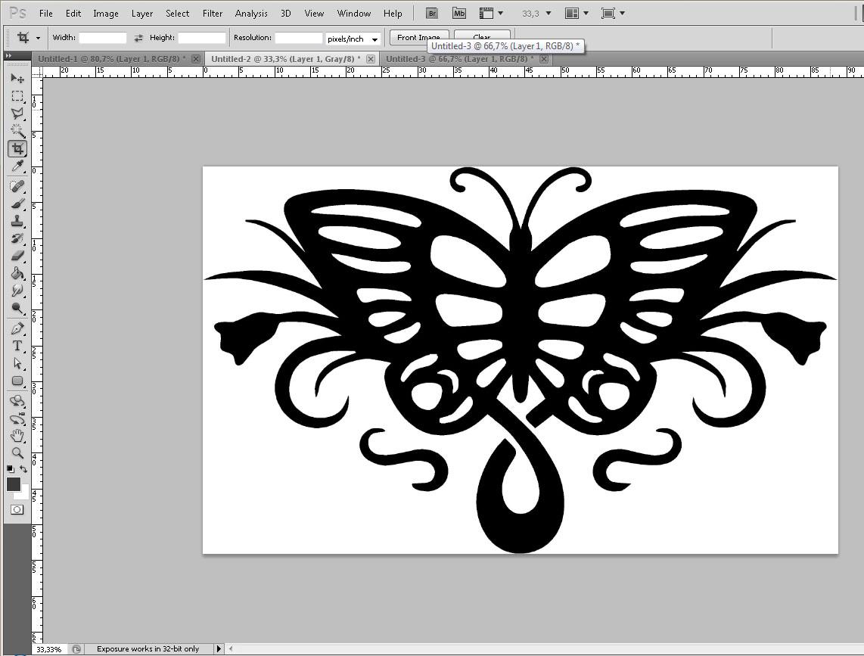 [Photoshop] Fazendo uma tatuagem no PS 24