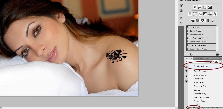 [Photoshop] Fazendo uma tatuagem no PS 71