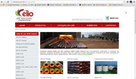 CelioACOS - Representante BESTAR Steel no Brasil - Produtos - Google Chrome_2013-05-08_19-01-33