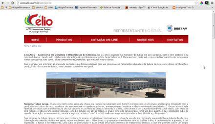 CelioACOS - Representante BESTAR Steel no Brasil - Sobre Nós - Google Chrome_2013-05-08_19-05-50